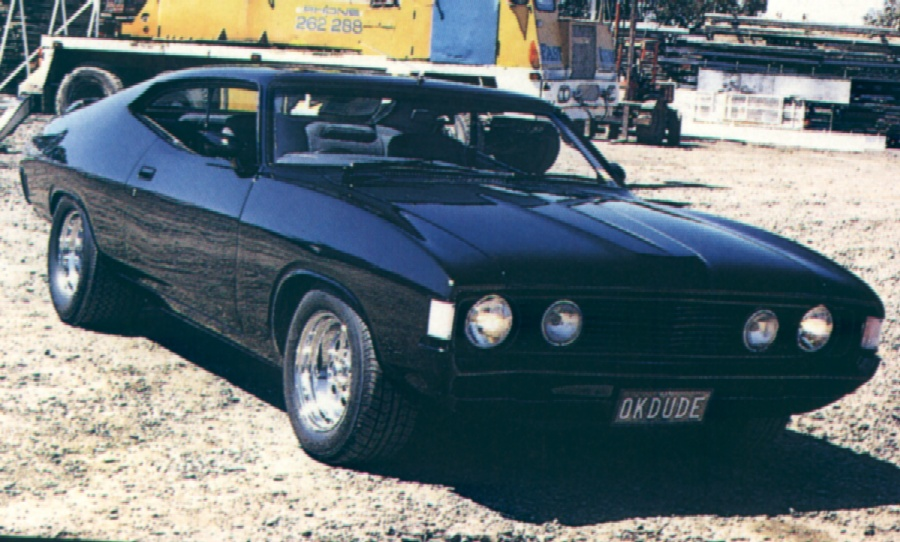 Ford V8 equipped car - mostly Australian